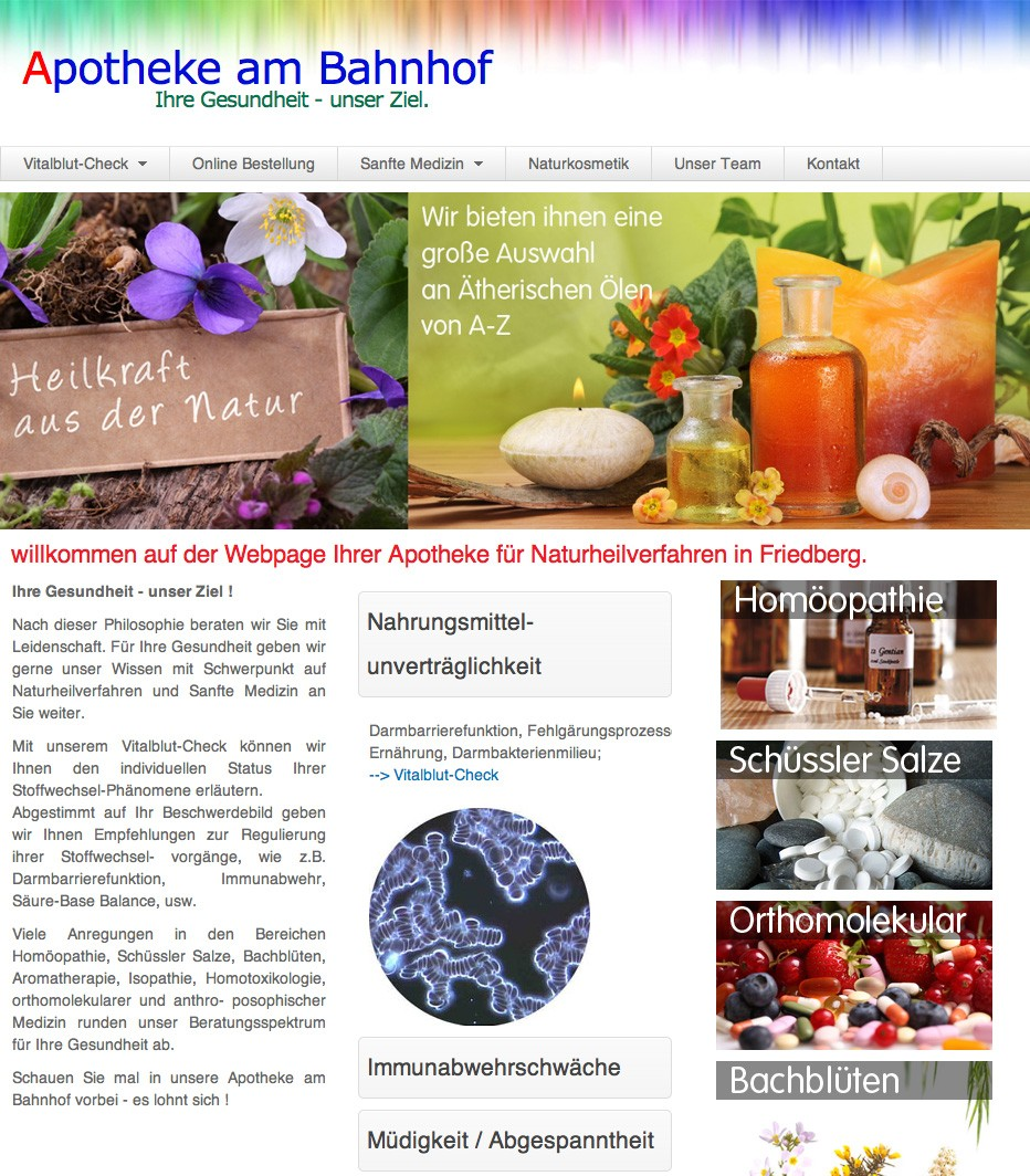 webdesign-5steps-online_Apotheke-am-Bahnhof_screenshot1